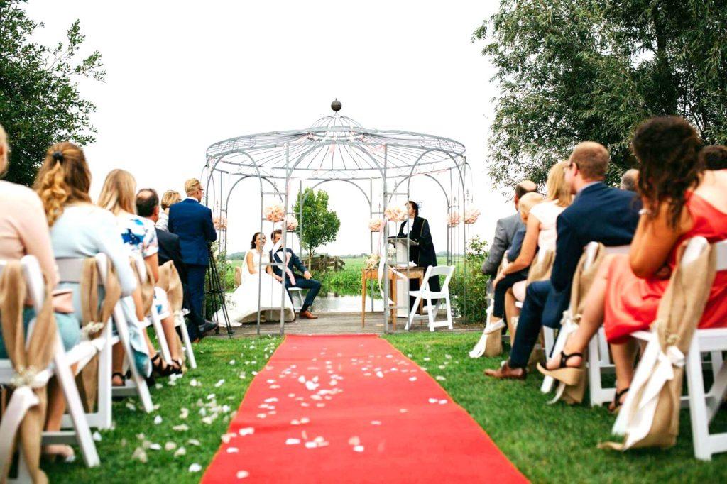 trouwen onder het prieel gouda